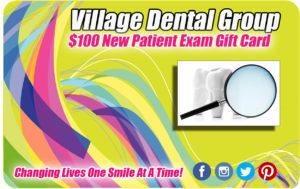dental exam gift card